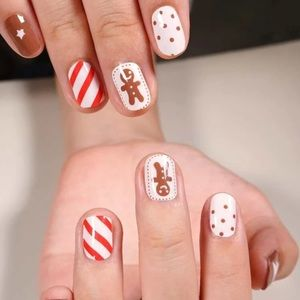 Other - 🎄Gingerbread Man Nail Wrap🎄